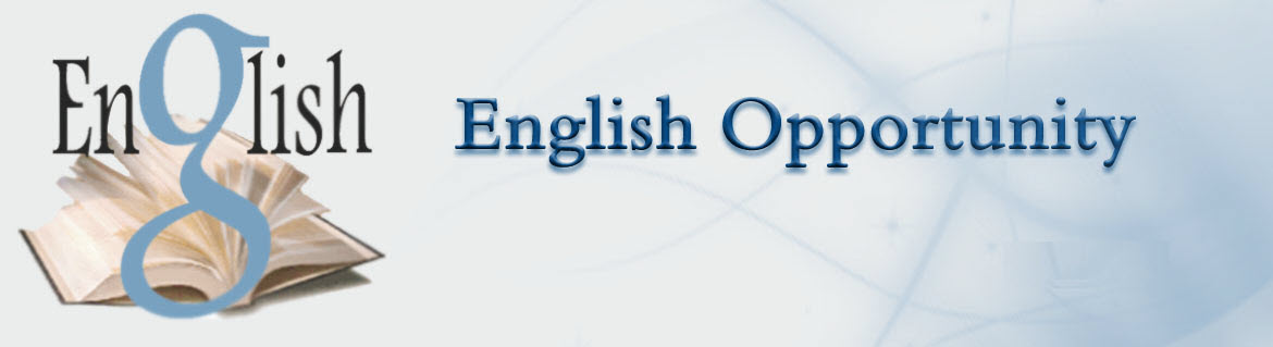 English Opportunity - English Opportunity